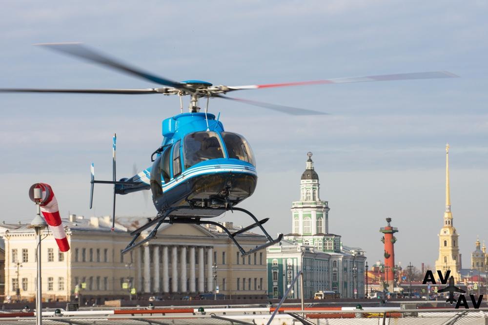 Полеты и экскурсии на вертолете в Санкт-Петербурге